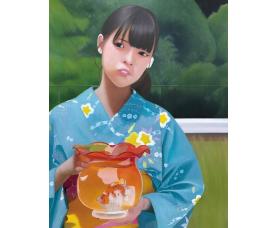 川田潮「20金魚鉢B」