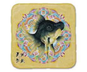 金魚美抄ミニタオル